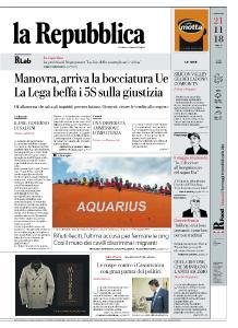 la Repubblica - 21 Novembre 2018