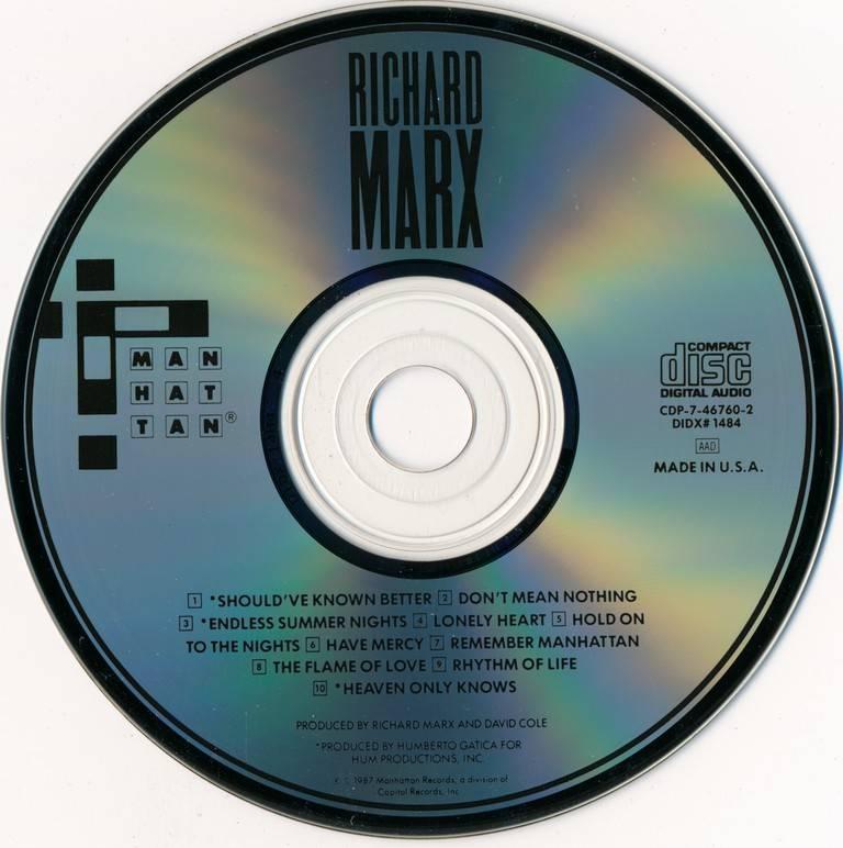 Richard Marx - Richard Marx (1987)