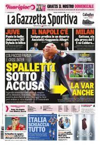 La Gazzetta dello Sport Roma – 16 settembre 2018
