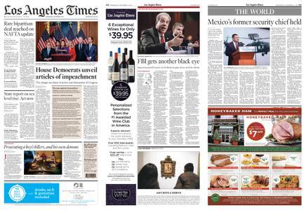 Los Angeles Times – December 11, 2019
