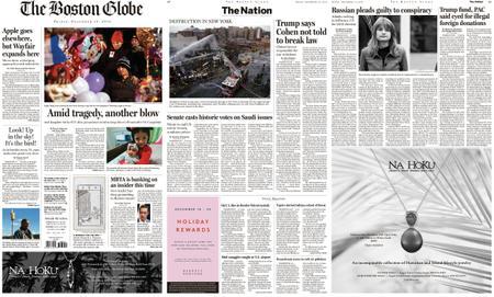 The Boston Globe – December 14, 2018