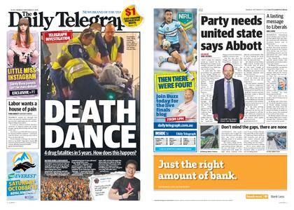 The Daily Telegraph (Sydney) – September 17, 2018