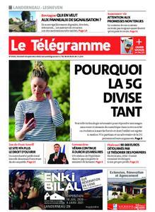 Le Télégramme Landerneau - Lesneven – 18 septembre 2020