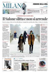 Corriere della Sera Milano – 26 febbraio 2020