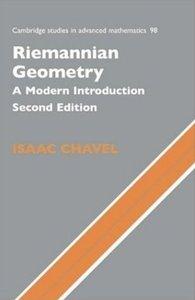 Riemannian Geometry: A Modern Introduction (repost)