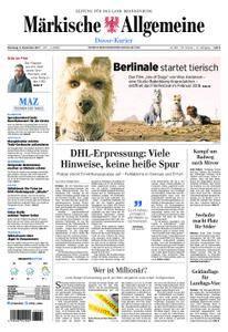 Märkische Allgemeine Dosse Kurier - 05. Dezember 2017