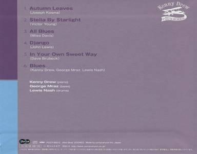 Kenny Drew Trio - Live For Peace (1990) {Pony Canyon Japan}