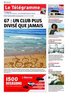 Le Télégramme Brest Abers Iroise – 24 août 2019