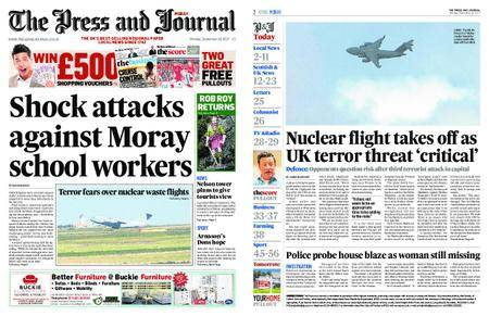 The Press and Journal Moray – September 18, 2017