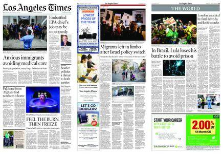 Los Angeles Times – April 06, 2018