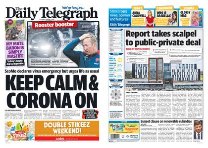 The Daily Telegraph (Sydney) – February 28, 2020