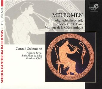 Melpomen - Ancient Greek Music  (Conrad Steinmann) (2005)