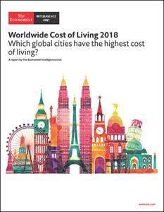 The Economist (Intelligence Unit) - Worldwide Cost of Living 2018 (2018)