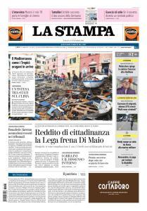 La Stampa Torino Provincia e Canavese - 3 Novembre 2018
