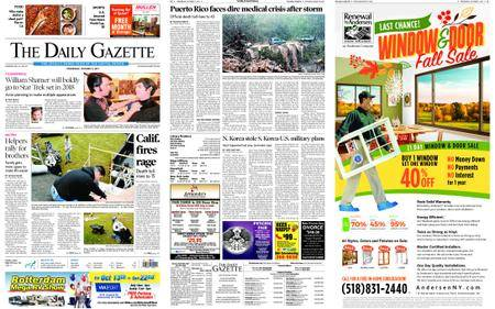 The Daily Gazette – October 11, 2017