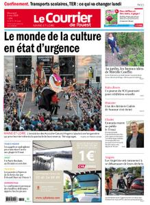 Le Courrier de l'Ouest Angers – 06 mai 2020