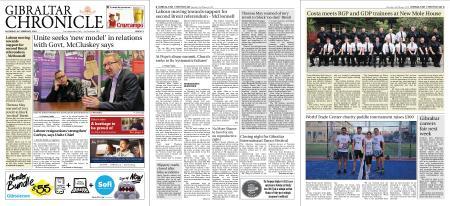 Gibraltar Chronicle – 23 February 2019