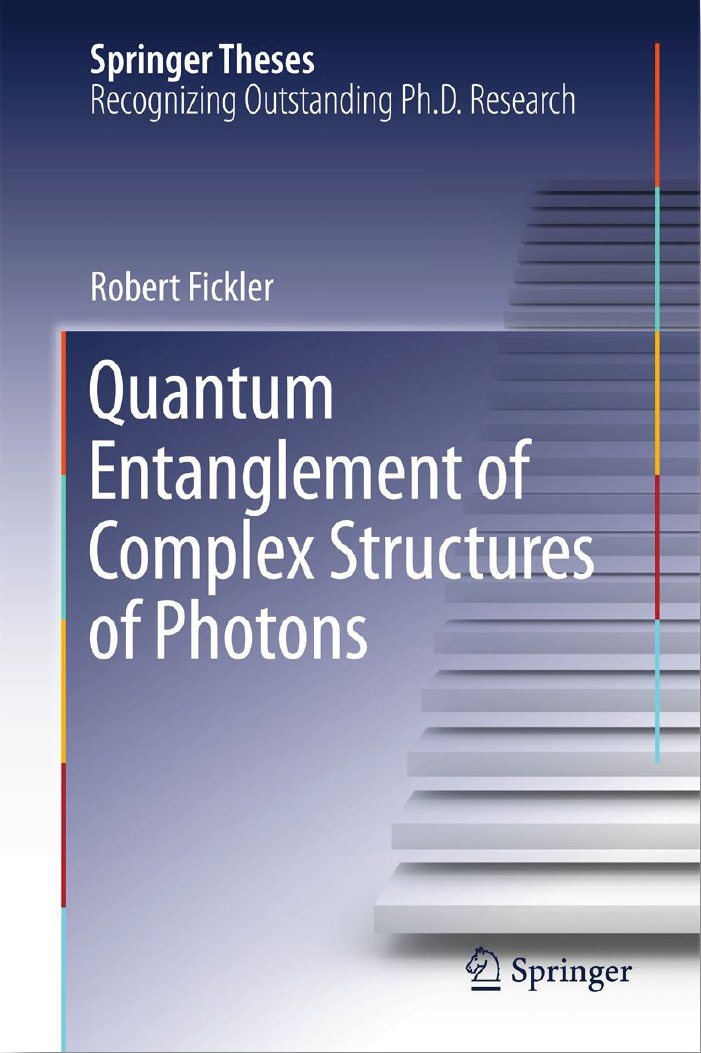 Quantum Entanglement of Complex Structures of Photons