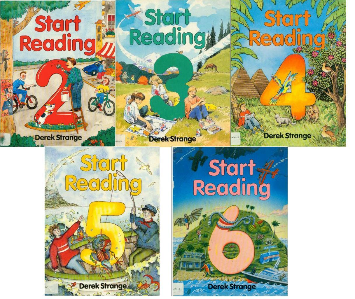 Start Reading Books (Vol 2-6)