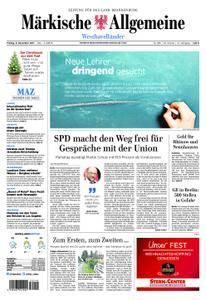 Märkische Allgemeine Westhavelländer - 08. Dezember 2017