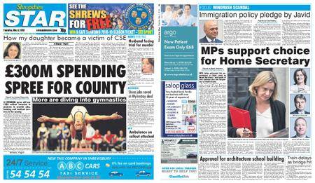 Shropshire Star Shrewsbury Edition – May 01, 2018