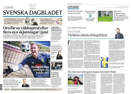 Svenska Dagbladet – 15 juni 2018
