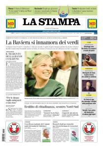 La Stampa Imperia e Sanremo - 15 Ottobre 2018