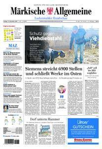 Märkische Allgemeine Luckenwalder Rundschau - 17. November 2017