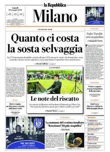 la Repubblica Milano – 20 maggio 2019