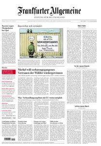 Frankfurter Allgemeine Zeitung F.A.Z. - 16. Oktober 2018