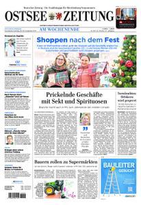Ostsee Zeitung – 28. Dezember 2019