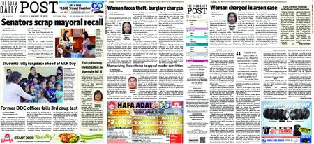The Guam Daily Post – January 18, 2020