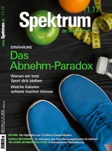 Spektrum der Wissenschaft No 11 – November 2017
