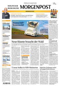 Solinger Morgenpost – 30. August 2019