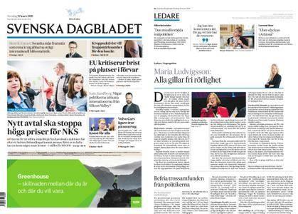 Svenska Dagbladet – 22 mars 2018