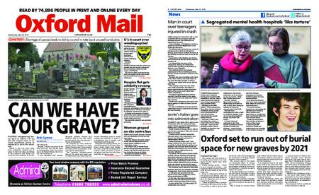 Oxford Mail – May 22, 2019