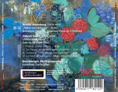 Duisburg Philharmonic Orchestra dir. Jonathan Darlington - Schoenberg / Fauré: Pelleas & Melisande Studio Master