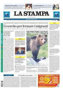 La Stampa Torino Provincia e Canavese - 28 Luglio 2020