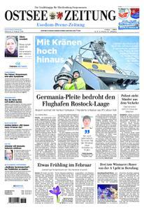 Ostsee Zeitung Wolgast - 06. Februar 2019