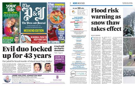 The Press and Journal Moray – December 05, 2020