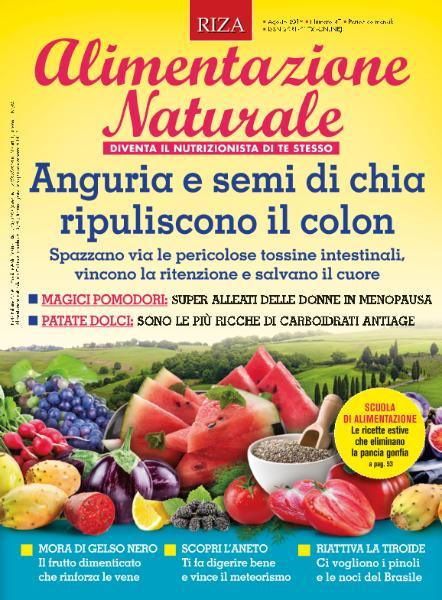Alimentazione Naturale - Agosto 2019