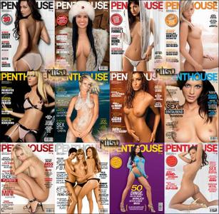 Penthouse Germany - Full Year 2008 Issues Collection