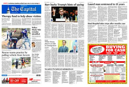 The Capital – April 11, 2019