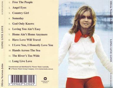 Olivia Newton-John - Long Live Love (1974) [1998, Digitally Remastered] *Re-Up* *New Rip*
