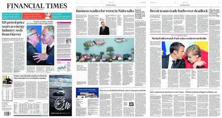 Financial Times Europe – September 01, 2017