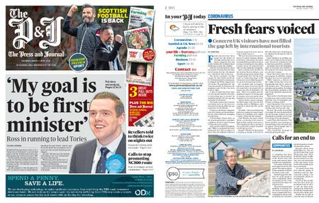 The Press and Journal Moray – August 01, 2020