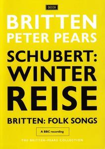 Peter Pears, Benjamin Britten - Schubert: Winterreise; Britten: Folk Songs (2008/1964&1970)