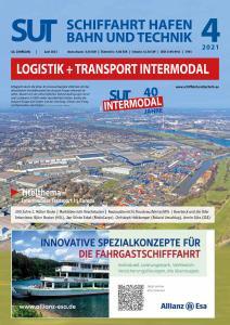 Schiffahrt Hafen Bahn und Technik - Juni 2021