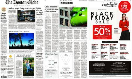 The Boston Globe – November 24, 2017