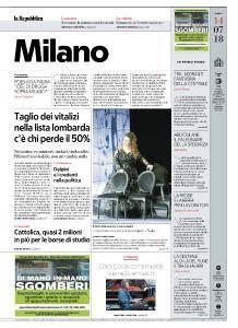 la Repubblica Milano - 14 Luglio 2018